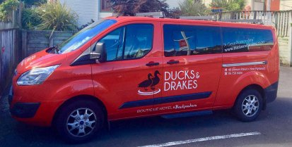 Ducks and Drakes Taranaki Shuttle